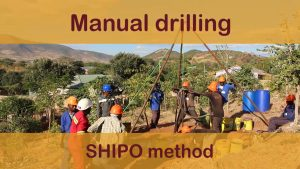 Manual drilling: Shipo method